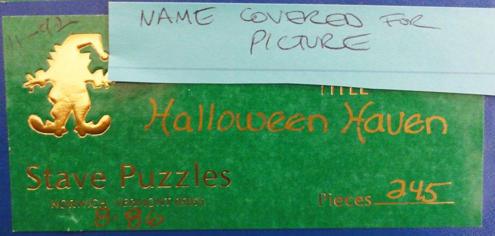 rar puzzles logo - Halloween Haven